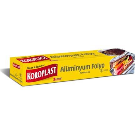 Koroplast Alüminyum Folyo 8M