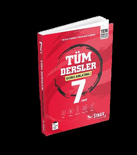 Sınav Yayınları 7. Sınıf Tüm Dersler Konu Anlatımlı
