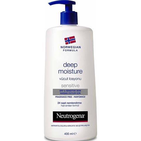 Neutrogena Vücut Losyonu 400ml Deep Moisture Parfümsüz