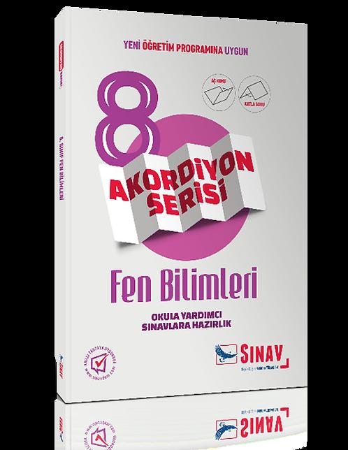 Sınav Yayınları 8. Sınıf Fen Bilimleri Akordiyon Kitap