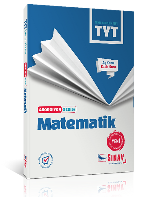 Sınav Yayınları TYT Matematik Akordiyon Kitap