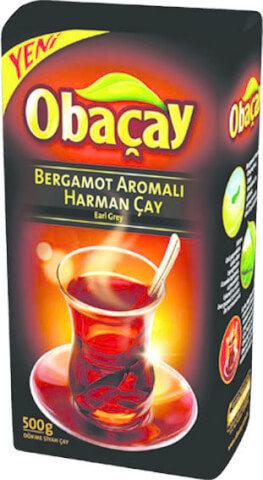 Obaçay Bergamot Aromalı Çay 500 Gr