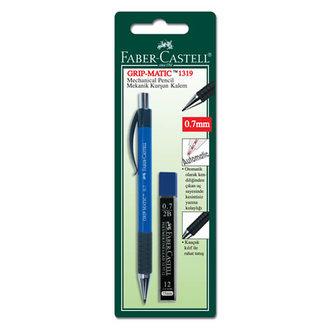 Faber Castell Grıp Matıc Mekanik Kurşun Kalem Ve Min Seti 0.7 Mm