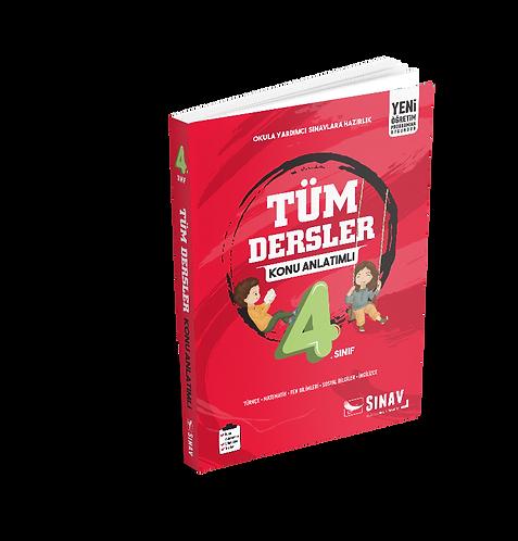 Sınav Yayınları 4. Sınıf Tüm Dersler Konu Anlatımlı