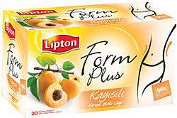 Lipton Form Plus Kayısılı 20 li