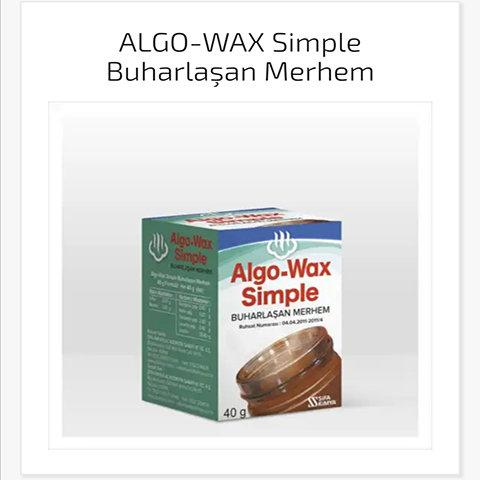 Algo-Wax Buharlaşan Merhem 40gr