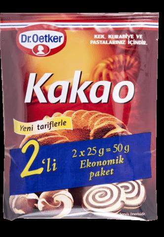 Dr.Oetker Kakao 2X25Gr
