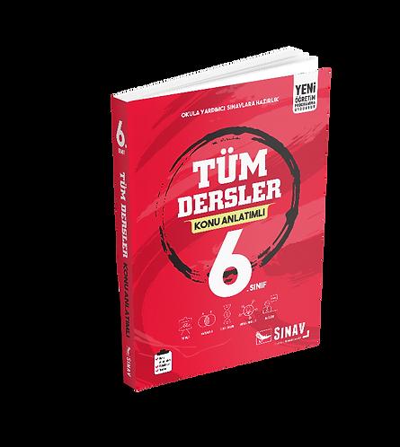 Sınav Yayınları 6. Sınıf Tüm Dersler Konu Anlatımlı