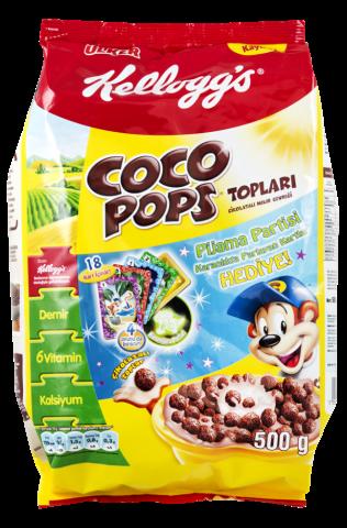 Ülker Kellogs Coco Pops Çikolatalı Mısır Gevreği 450 Gr