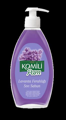 Komili Pam Sıvı Sabun Lavanta Tazeliği 400 Ml