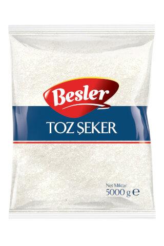 Besler Toz Şeker 5 Kg