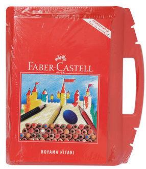 Faber Castell Boyama Çantası Kitap Hediyeli