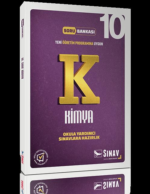 Sınav Yayınları 10. Sınıf Kimya Soru Bankası