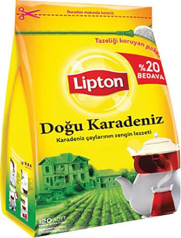 Lipton Doğu Karadeniz 120'li Demlik Poşet Çay