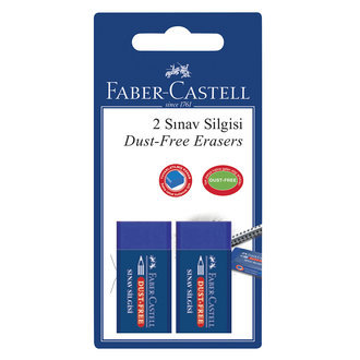 Faber Castell Sınav Silgisi 2'Li