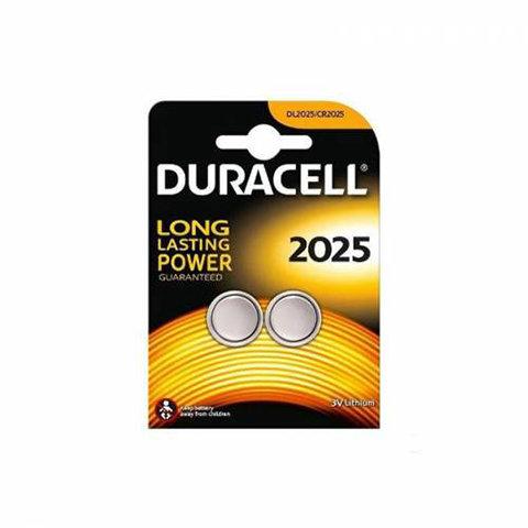 Duracell Düğme Pil 2025 Lityum 2'li Düğme Pil