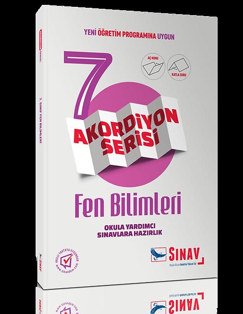 Sınav Yayınları 7. Sınıf Fen Bilimleri Akordiyon Kitap