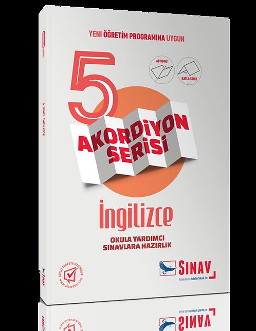 Sınav Yayınları 5. Sınıf İngilizce Akordiyon Kitap