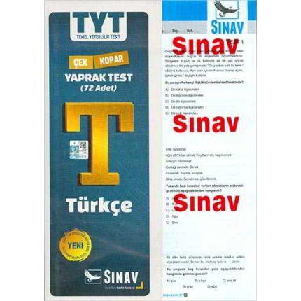 Sınav TYT Türkçe Yaprak Testi