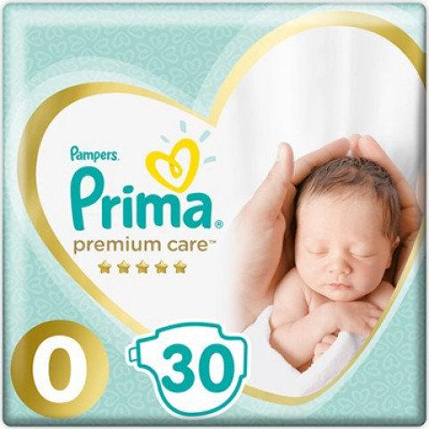PRİMA PREMIUM CARE 0 BEDEN PREMATURE 30lu