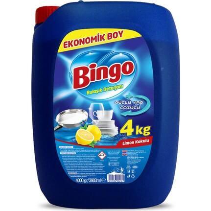 Bingo Bulaşık Deterjanı Limon 4 Kg