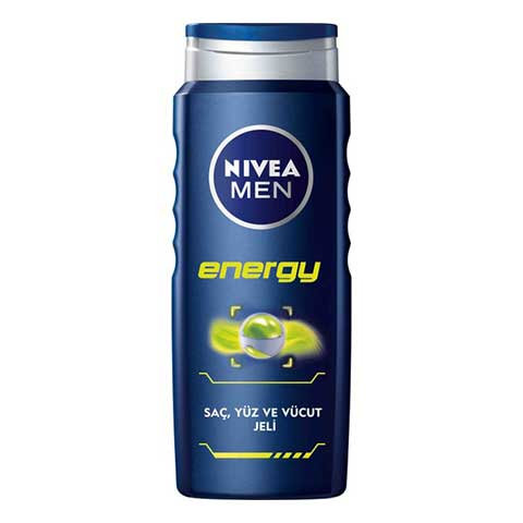NİVEA MEN DUŞ JELİ ENERGY 500ML