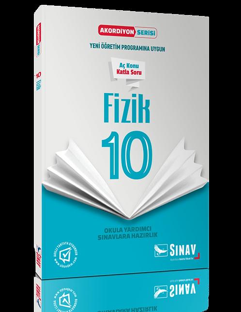 Sınav Yayınları 10. Sınıf Fizik Akordiyon Kitap
