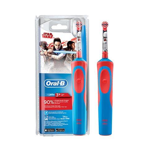 Oral B Frozen Star Wars Çocuklar İçin Şarj Edilebilir Diş Fırçası (3+ Yaş)