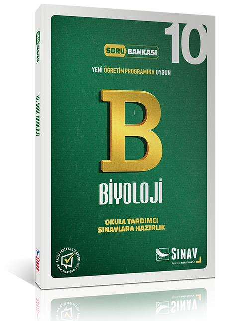 Sınav Yayınları 10. Sınıf Biyoloji Soru Bankası