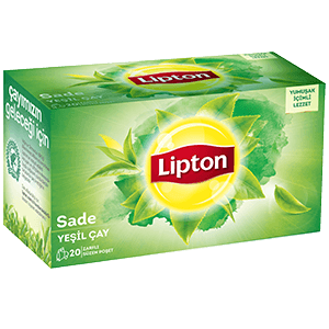 Lipton Sade Yeşil Poşet Çay 20 li 30 Gr