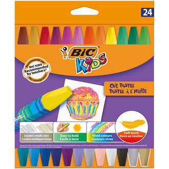BIC Kids Yağlı Pastel Boya 24'lü Kutu