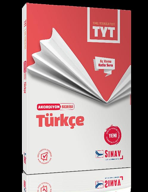 Sınav Yayınları TYT Türkçe Akordiyon Kitap