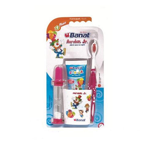 Banat Acrobat Junior Çocuk Diş Fırça Seti