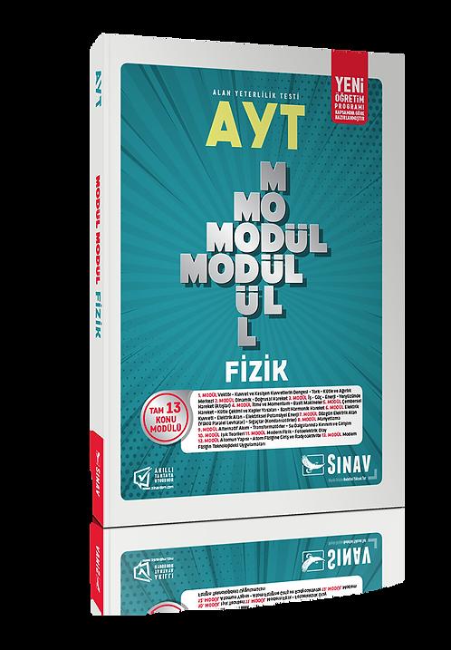 Sınav Yayınları AYT Fizik Modül Modül Konu Anlatımlı