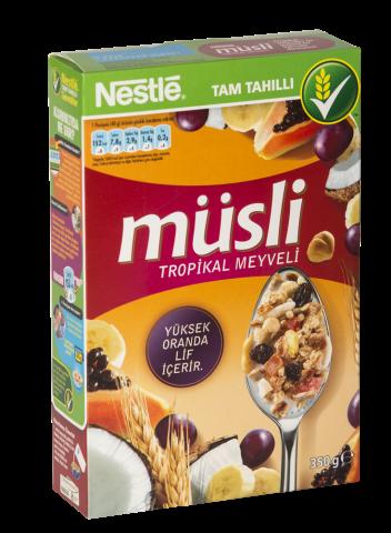 Nestle Müsli Tropikal Meyveli 350 Gr