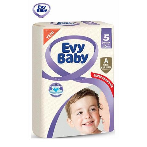 EVY BABY BEBEK BEZİ DEV PAKET 5 BEDEN 40lı
