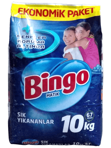 Bingo Matik Soda Etkili 10 Kg