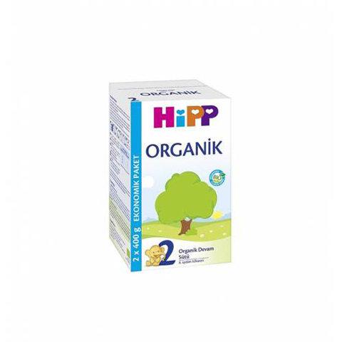 Hipp 2 Organik Devam Sütü 800 gr