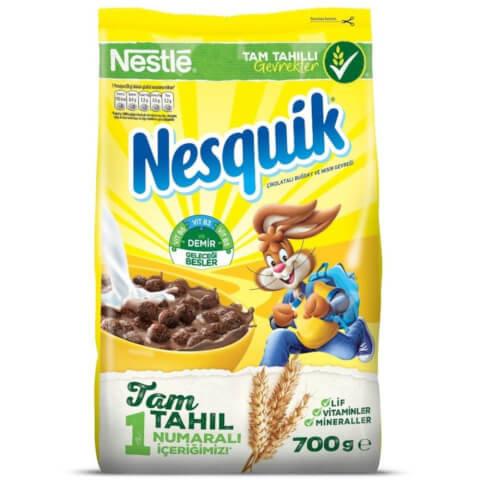 Nestle Nesquik Buğday ve Mısır Gevreği 700 Gr