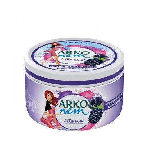 Arko Nem Yoğurt Böğürtlen Canlandırıcı Bakım Kremi 300ml