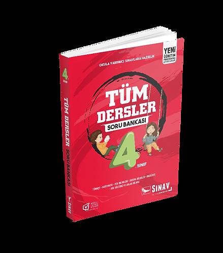 Sınav Yayınları 4. Sınıf Tüm Dersler Soru Bankası
