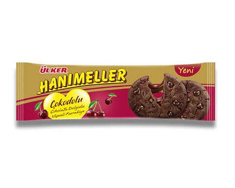 Ülker Hanımeller Çokodolu Vişneli Bisküvi 90 Gr