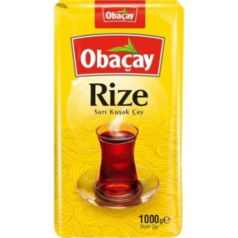 OBAÇAY Rize Sarı Kuşak Çay 1 Kg