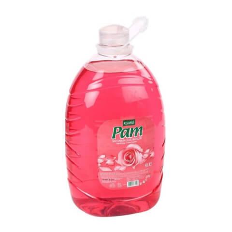 Komili Pam Sıvı Sabun Gül Bahçesi 4 Lt