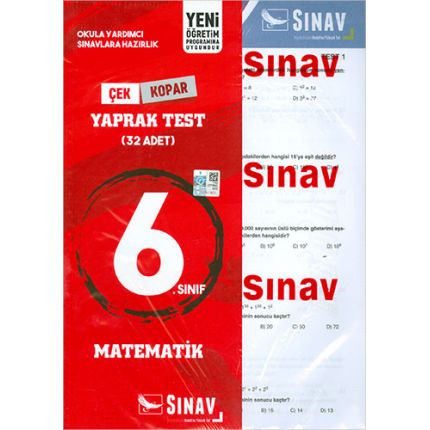 Sınav 6.Sınıf Matematik Yaprak Test
