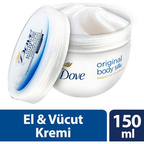 Dove El Ve Vücut Kremi Orıgınal Body Sılk 150ml