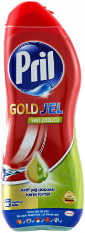 Pril Gold Jel 50 Yıkama 900Ml
