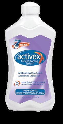 Activex Antibakteriyel Sıvı Sabun 1500 Ml