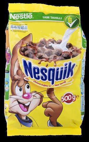 Nestle Nesquick Kakolu Buğday Ve Mısır Gevreği 450 Gr