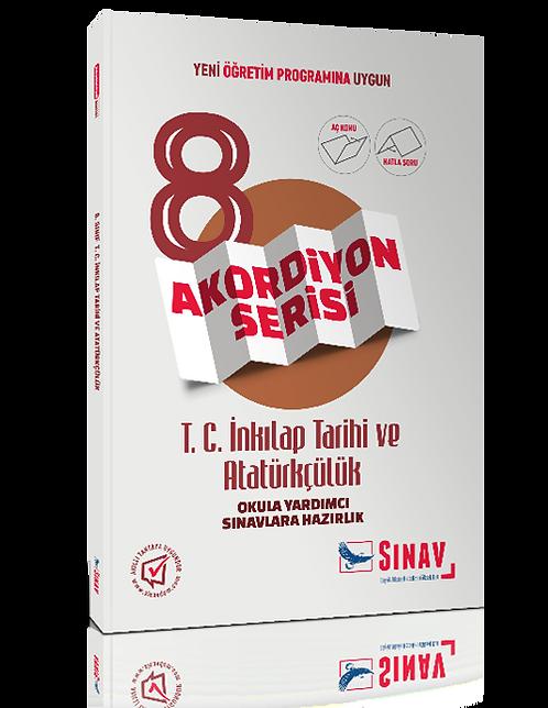 Sınav Yayınları 8. Sınıf T.C. İnkılap Tarihi ve Atatürkçülük Akordiyon Kitap